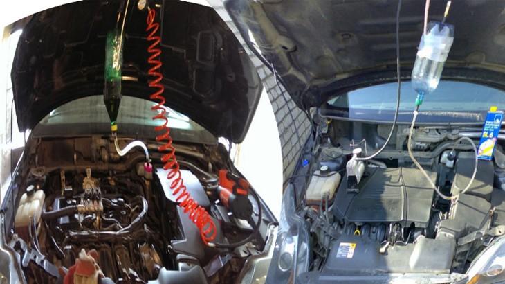 Приспособление для прокачки тормозов своими руками на Форд Фокус 2  (Аэратор) за 20 минут с фото