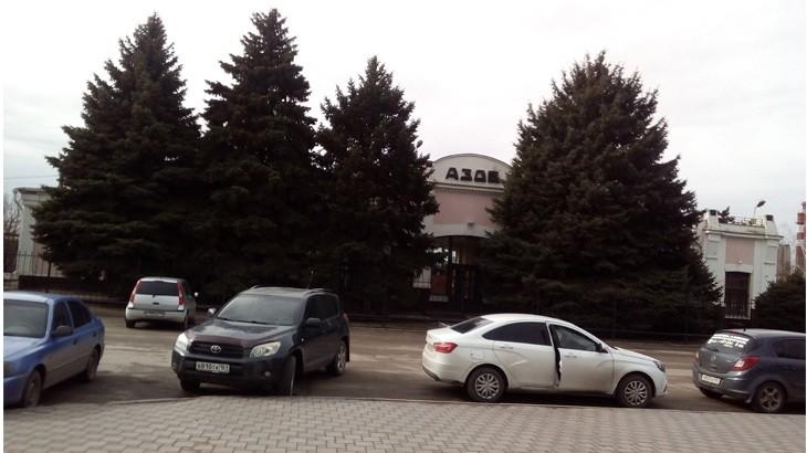 Азовская ЖД станция