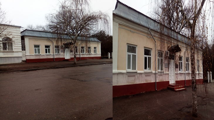 Дом в котором жил Р.Л Самойлович