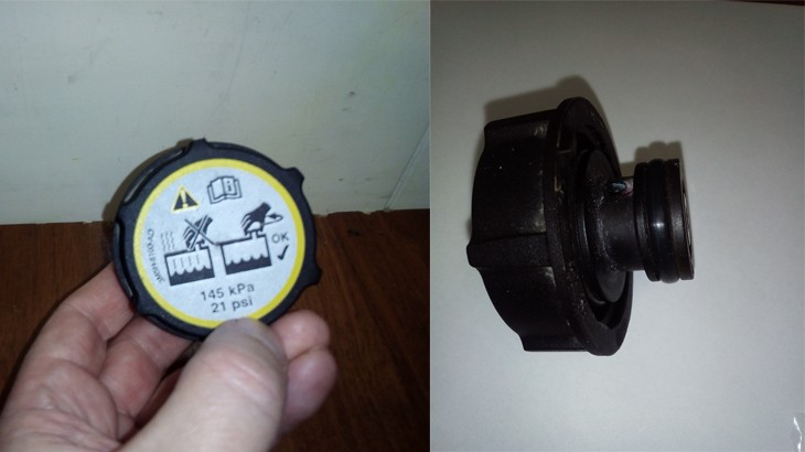 Сломалась крышка расширительного бачка на автомобиле Форд Фокус 2 с фото и видео