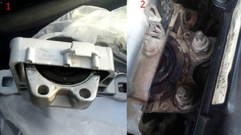 Меняем самостоятельно  переднюю правую гидроопору двигателя на автомобиле Форд Фокус 2