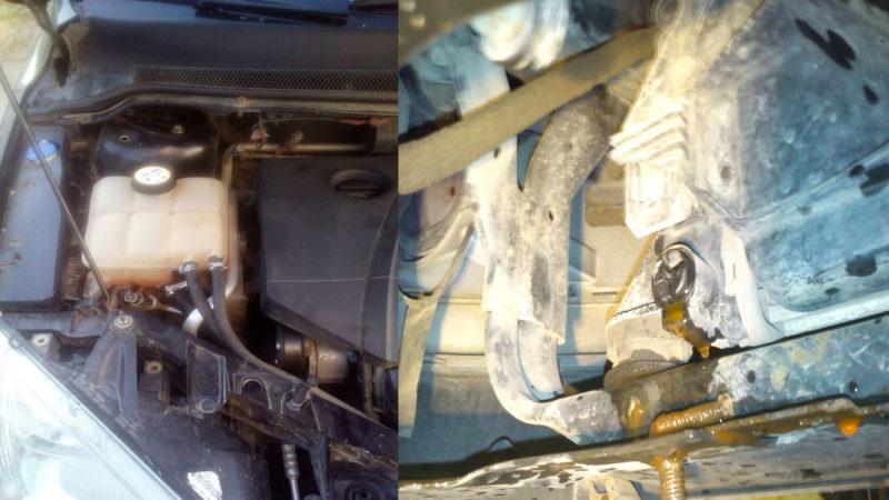Замена антифриза на Форд Фокус 2 седан 2.0 л
