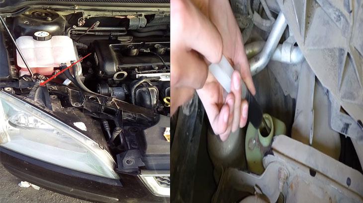 Быстро обновить жидкость в ЭГУР на автомобиле