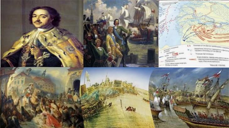Картины взятия крепости Азов