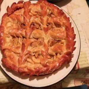 Выпекаем пирог с яблоками
