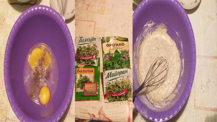 Приготовление кляра для цветной капусты