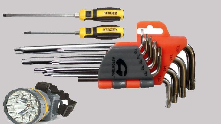 набор инструментов для ремонта багажника форд фокус 2